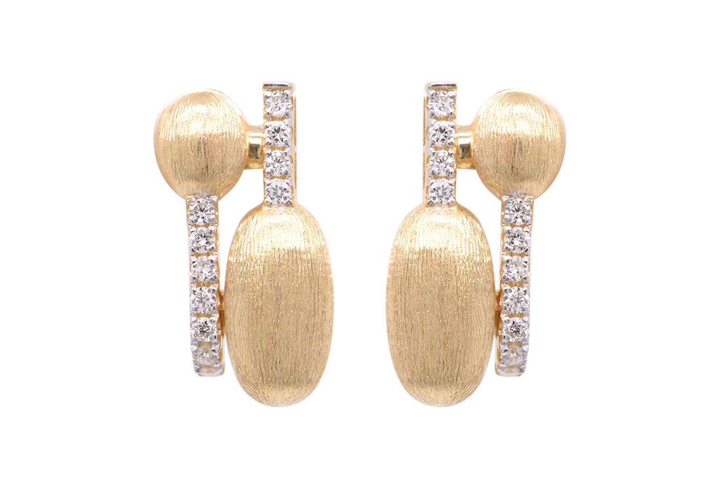 Aretes Dancing Rain Collection 18k / 0.13ct