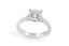 Anillo Promese ''Cluster Love 4'' 14K / 0.53 Ct
