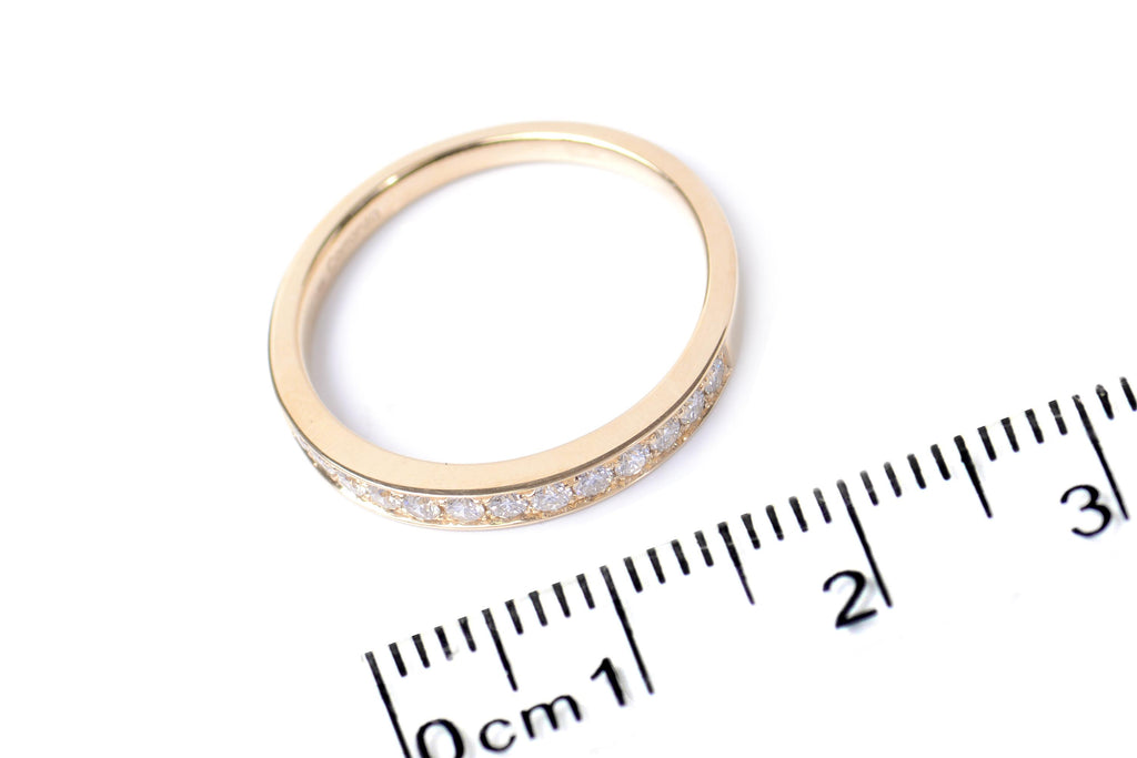 "Alianza ""Everyday"" con 0.25ct de diamantes y 18K (M32955)"