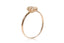 Anillo NANIS (Italy) Amarcord Collection 18K y diamante natural de 0.01 ct (M33225)