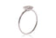 Anillo NANIS (Italy) Amarcord Collection 18K y 0.18 ct de diamantes naturales (M33227)