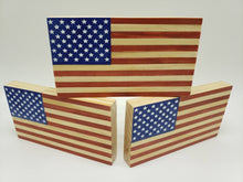 Load image into Gallery viewer, American Wood Flag (Desktop Edition)