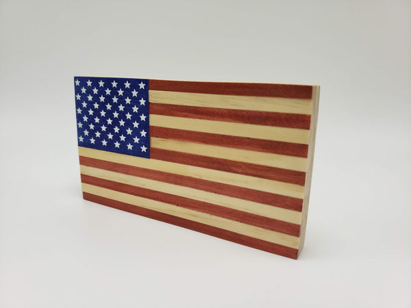 American Wood Flag (Desktop Edition)
