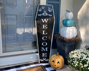 Coffin Porch Sign