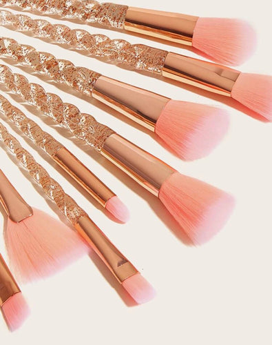 Peachy Makeup Brush Set