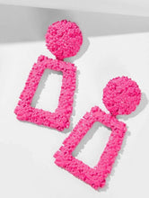 Load image into Gallery viewer, Pink Drop Earrings