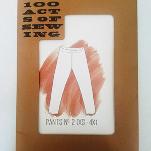 100 Acts of Sewing Pants No. 2