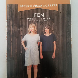 Fen Dress + Shirt Pattern