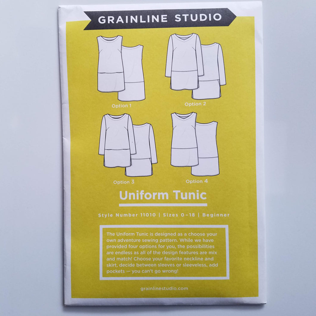 Uniform Tunic Pattern
