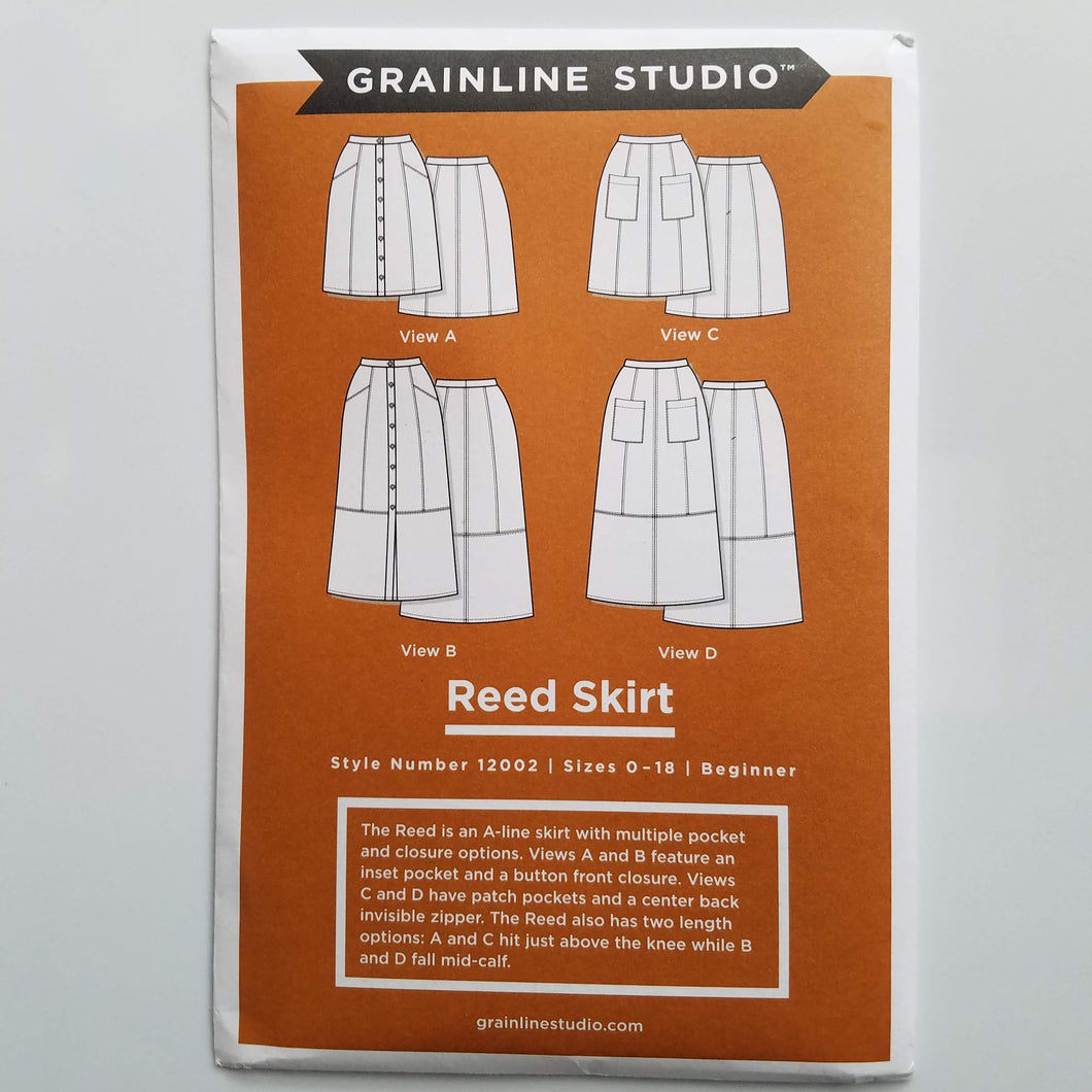 Reed Skirt Pattern