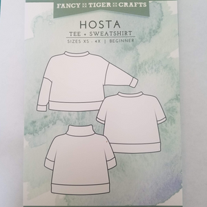 Hosta Tee + Sweatshirt Pattern