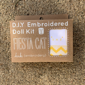 Kiriki Press DIY Doll Kit Fiesta Cat