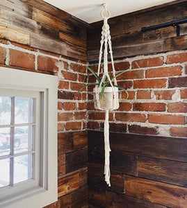 Workshop:<br>Macrame Plant Hanger<br>August 6th, 2020