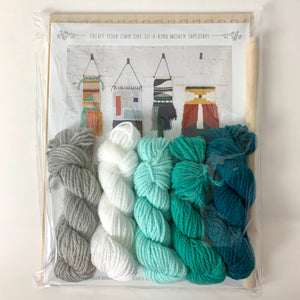 Black Sheep Goods Weaving Kit Ocean