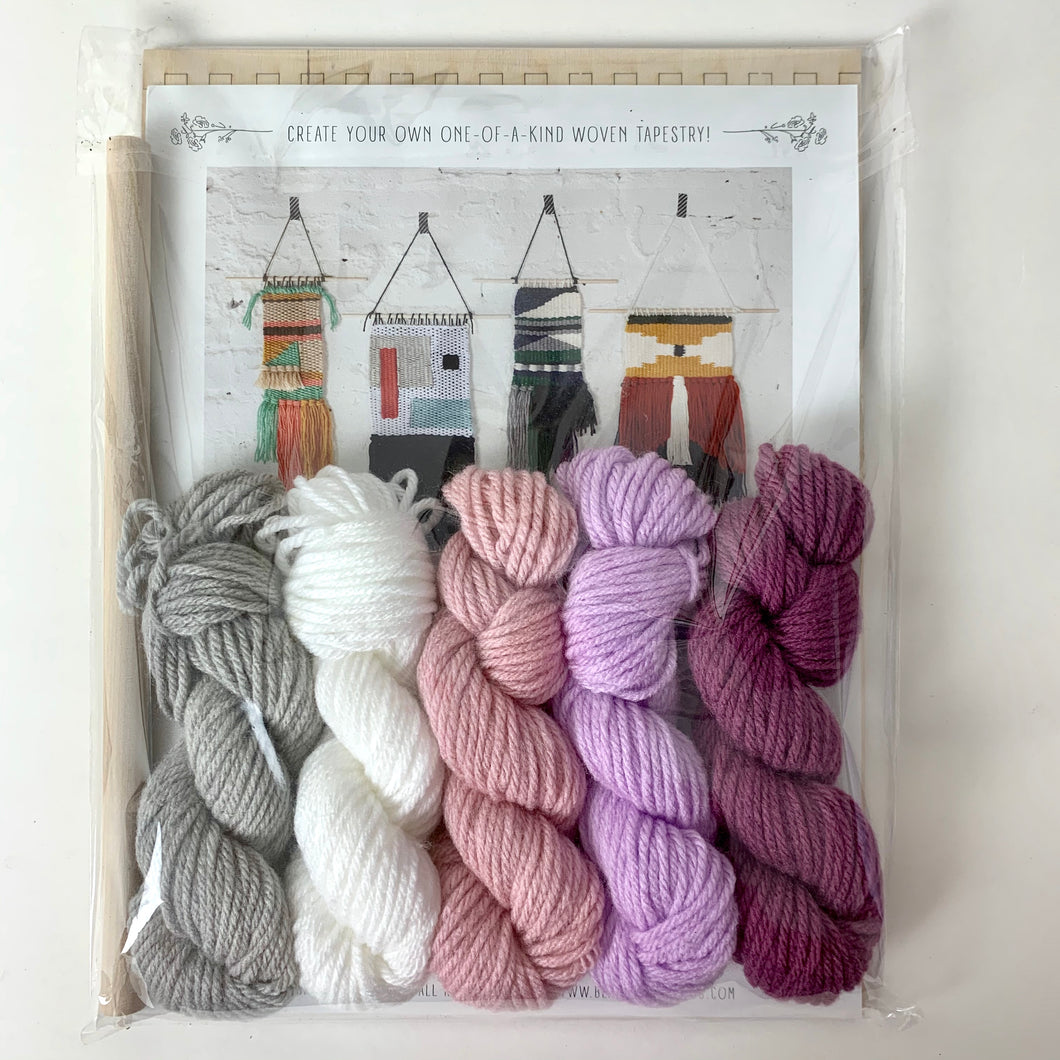 Black Sheep Goods Weaving Kit Orchid