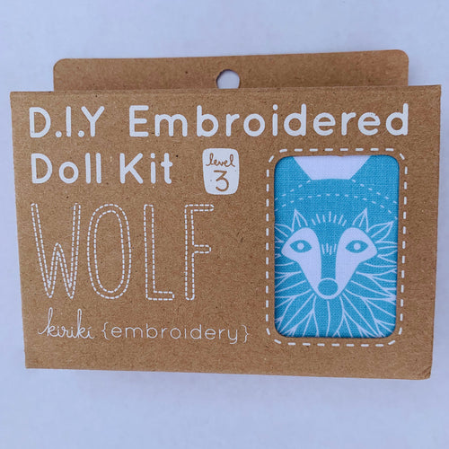 Kiriki Press DIY doll kit Wolf