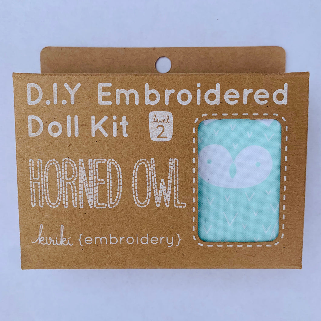 Kiriki Press DIY doll kit Horned Owl
