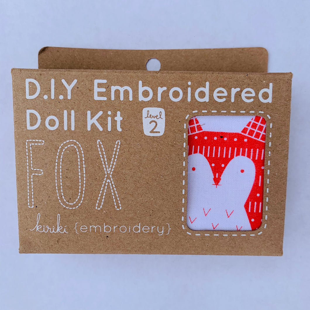 Kiriki Press DIY doll kit Fox