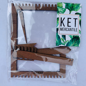 Maker General + KET Mercantile weaving kit