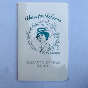 Notebook Votes for Women Jeannette Rankin