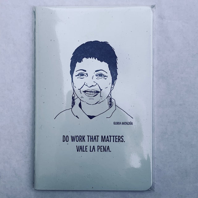 Notebook Gloria Anzaldua