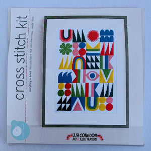 Lisa Congdon Cross Stitch Kit
