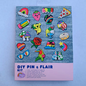 DIY Pin and Flair Kit