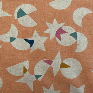 Fabric Ruby Star Society Stellar