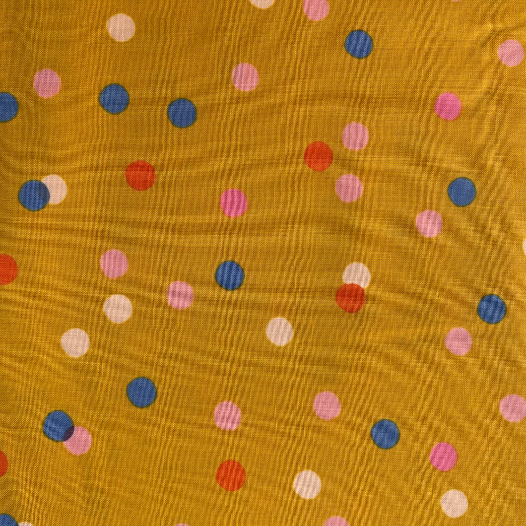 Fabric Ruby Stay Society Clementine Dots