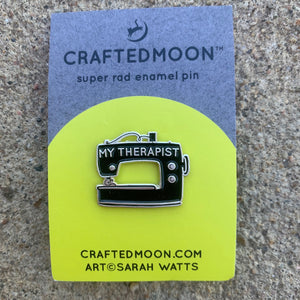 Enamel Pin My Therapist