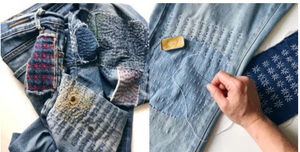 Workshop:<br>Denim Mending with Wrenbird Arts<br> August 27