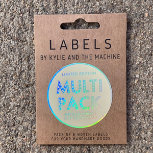 Kylie + The Machine label Multipack