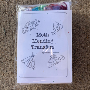 Wrenbird Moth Mending Transfer Kit