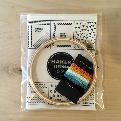 Maker General Embroidery Kit