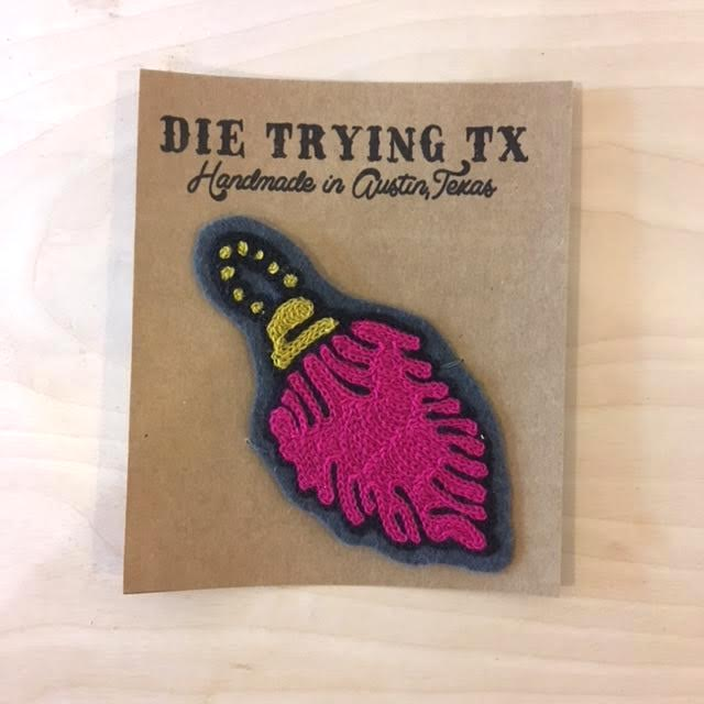 Die Trying TX Rabbits Foot Patch