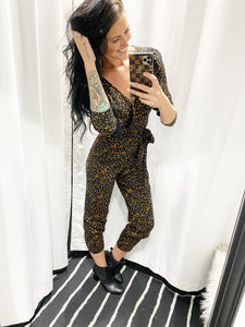 Spotted Jumpsuit 30062