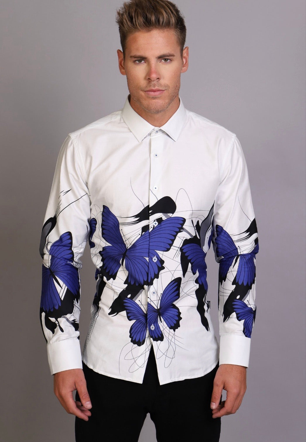 Butterly Barabas Button up 00020