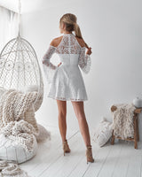 Tanya Dress in White