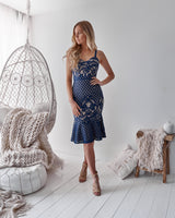 Ella Dress in Navy