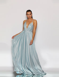 Madelyn Gown By Jadore In Baby Blue
