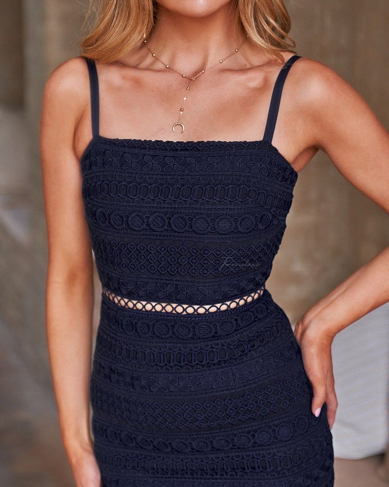 Erin Dress In Navy
