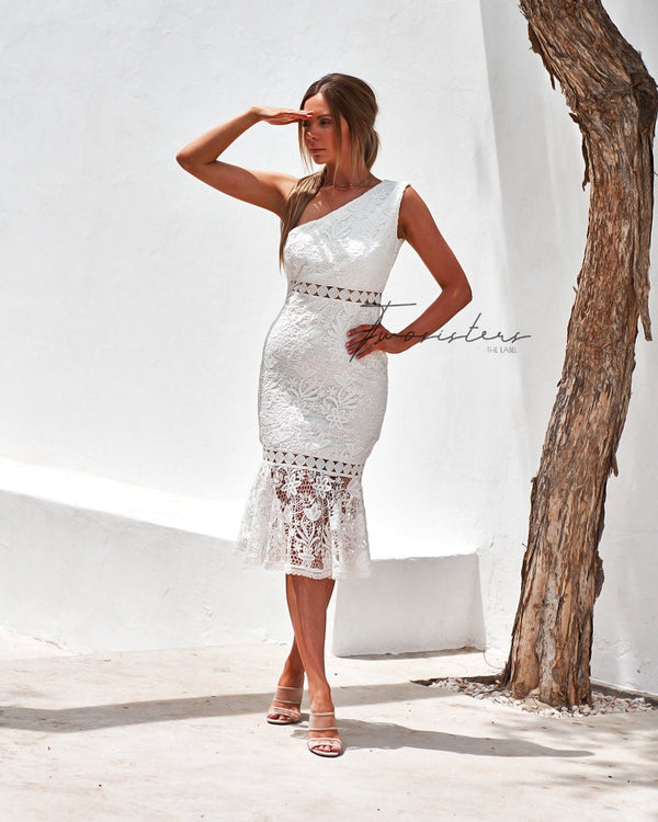 Tamara Dress in White
