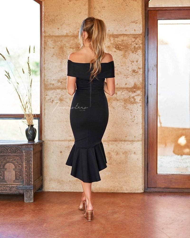Brienne Dress In Black