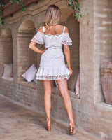 Sao Paolo Dress In white
