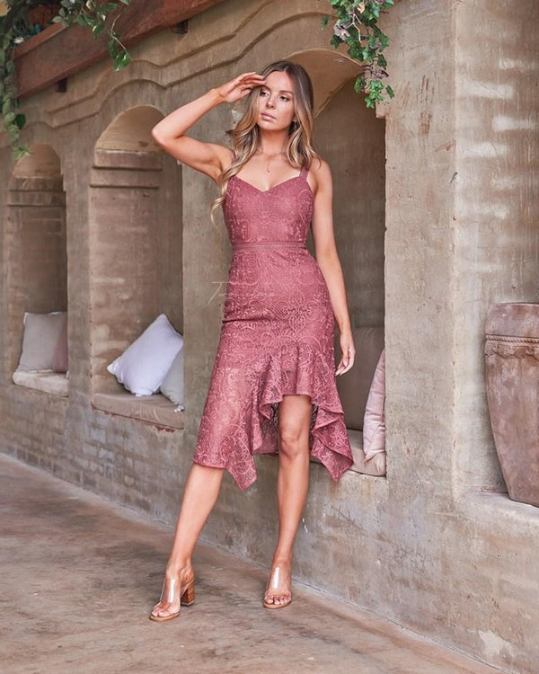 Cynthia Dress - Mauve