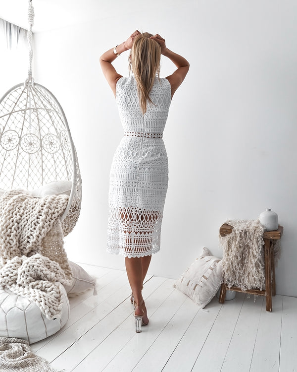 Scarlette Dress in White
