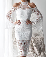 Nayla Dress in White