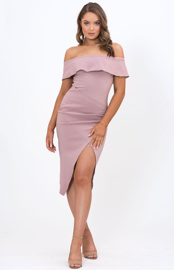 Cinthia Dress in Blush