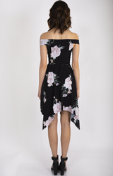 Emmy Dress Black Floral
