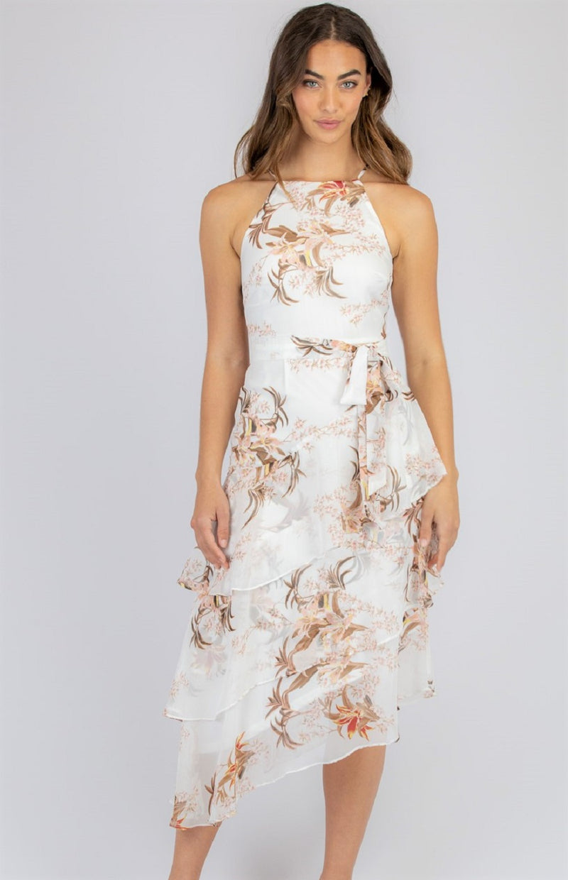 Mish Dress  - White Floral